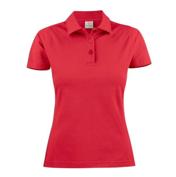 Surf RX Polo Shirts Womens T1008 Red