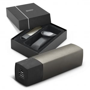 Swiss Peak Power Bank 5000 mAh CA115591 Black in Gift Box