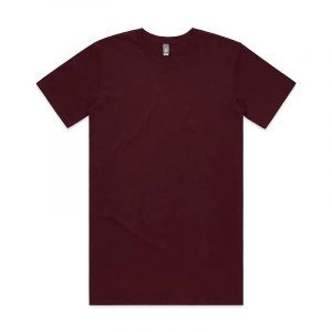 Tall T Shirts Mens 5013 Maroon