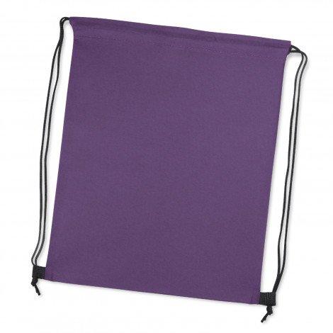 Tampa Drawstring Backpack Purple