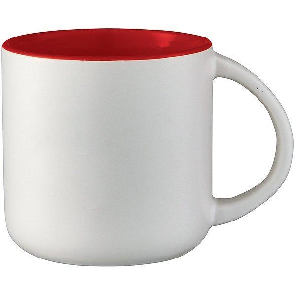 Tango Ceramic Mug 3642BL White Red