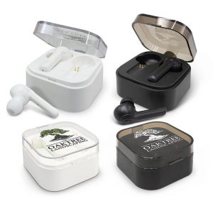 Tempo Bluetooth Earbuds CA116449 Black White in Cases