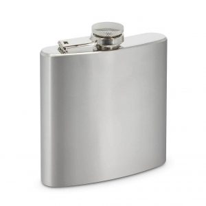 Tennessee Hip Flask 113323 Silver
