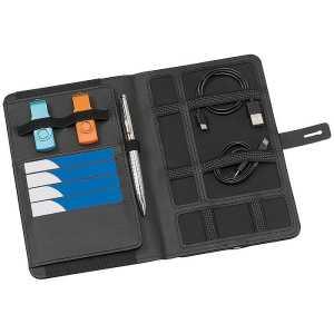 The Power Passport Holder CA9212BK Black Open