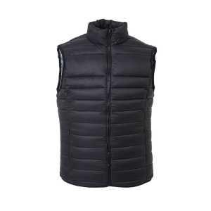 The Puffer Vest Mens J808 Black
