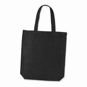 Thera Jute Tote Bag 108034 Black