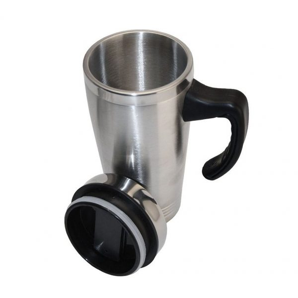 Thermal Travel Mug Double Wall 4199SL Silver