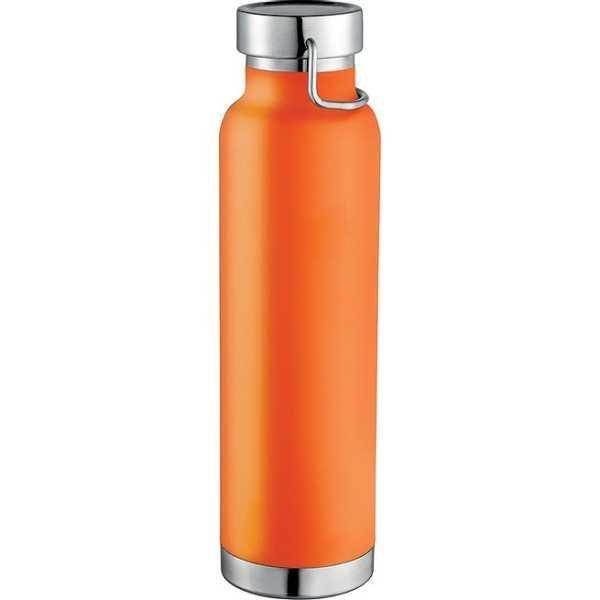 Thor Copper Vacuum Insulated Bottle 4075OR Orange