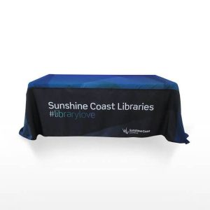 Throw Over Tablecloth CA103 Various Colours Branded 1