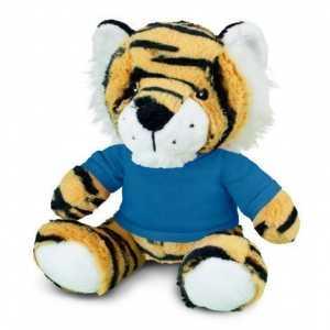 Tiger Plush Toy CA117865 Blue
