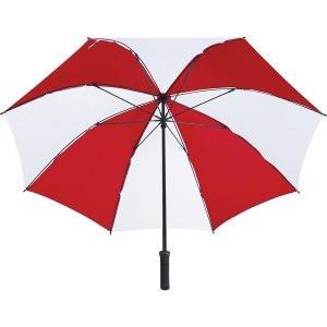 Tour Golf Umbrella CASB1001White Red Bottom View