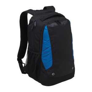 Trek Laptop Backpack 1970 Black Blue Front