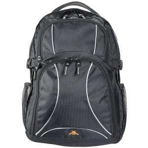 Trekk Backpack 1 TK1002BK Black Front