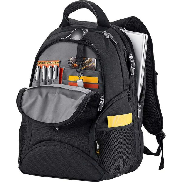 Trekk Backpack TK1024BK Black inside Details