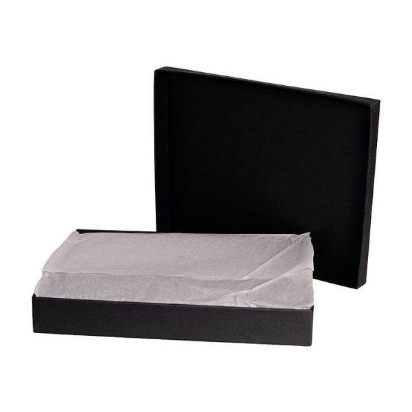 Trekk Passport Holder CATK1012GY Grey in Black Gift Box