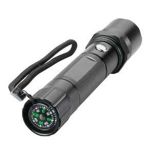 Trekk Torch with Compass TK1005BK Black