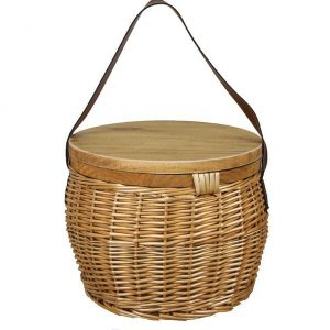 Trekk Wicker Basket CATK1031 Natural Closed