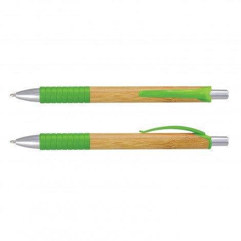 Trinity Bamboo Pen CA117410 Lime Green