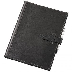 Tuscan A4 Pad Cover 9208BK Black Front