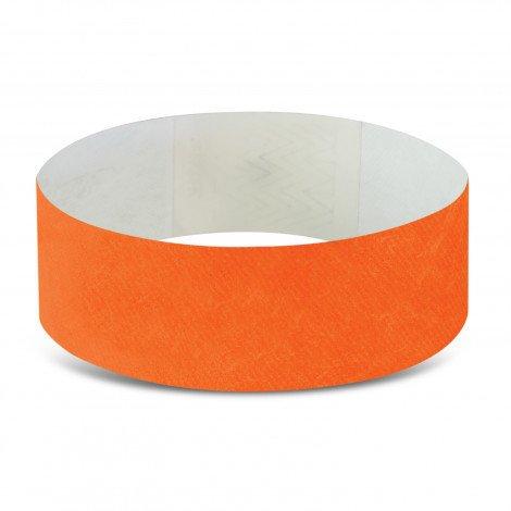 Tyvek Event Wrist Bands CA110890 Dark Orange