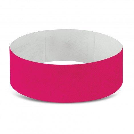 Tyvek Event Wrist Bands CA110890 Dark Pink