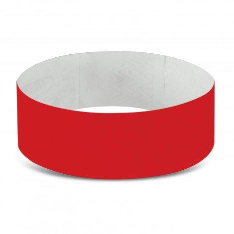 Tyvek Event Wrist Bands CA110890 Dark Red