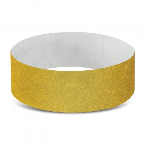 Tyvek Event Wrist Bands CA110890 Gold