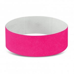 Tyvek Event Wrist Bands CA110890 Hot Pink