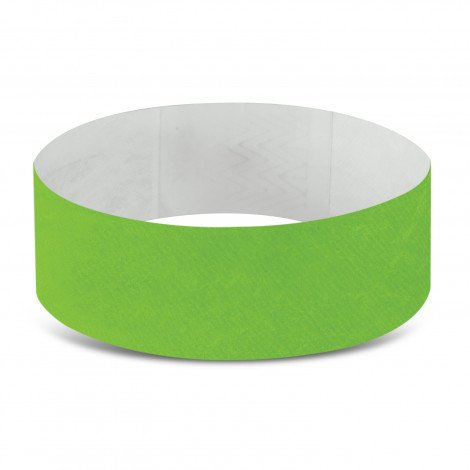 Tyvek Event Wrist Bands CA110890 Lime Green