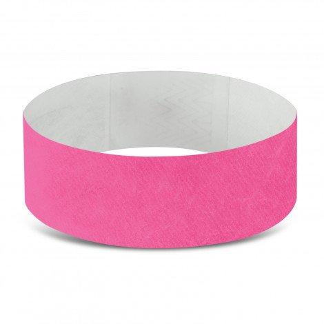 Tyvek Event Wrist Bands CA110890 Pink