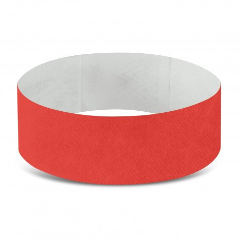 Tyvek Event Wrist Bands CA110890 Red