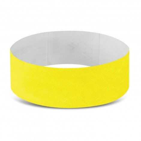 Tyvek Event Wrist Bands CA110890 Yellow