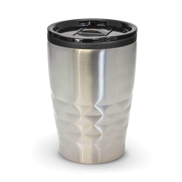 Urban Double Wall Coffee Cup 400ml 113084 Silver