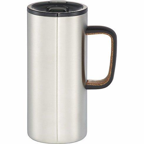 Valhalla Copper Vacuum Mug 4076BK Silver
