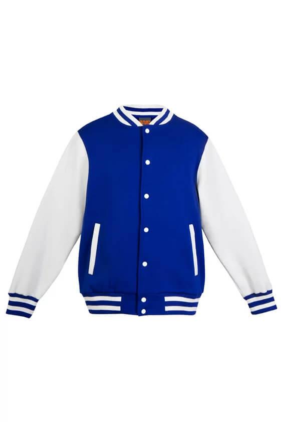 Varsity Jacket Mens F906HO Blue