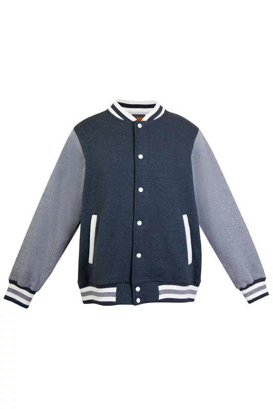 Varsity Jacket Mens F906HO Marle