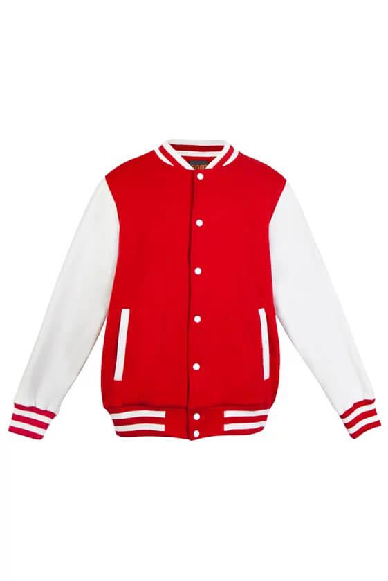 Varsity Jacket Mens F906HO Red