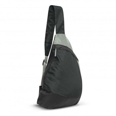 Varsity Slinger Bag Black