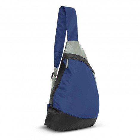 Varsity Slinger Bag Dark Blue
