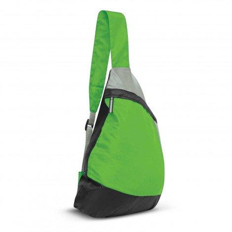 Varsity Slinger Bag Green