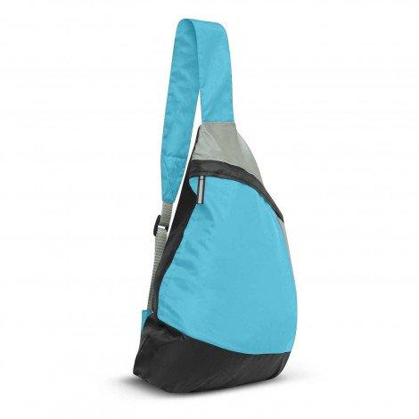 Varsity Slinger Bag Light Blue