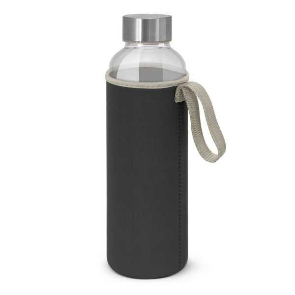 Venus Drink Bottles with Coloured Neoprene Sleeve 112544 Black
