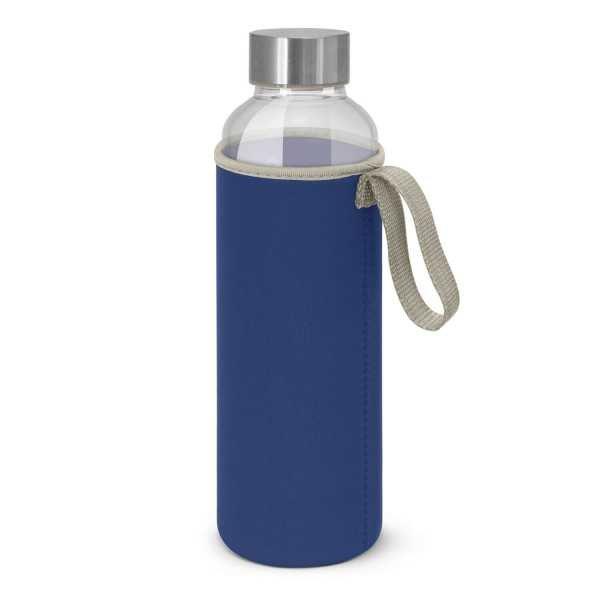 Venus Drink Bottles with Coloured Neoprene Sleeve 112544 Dark Blue