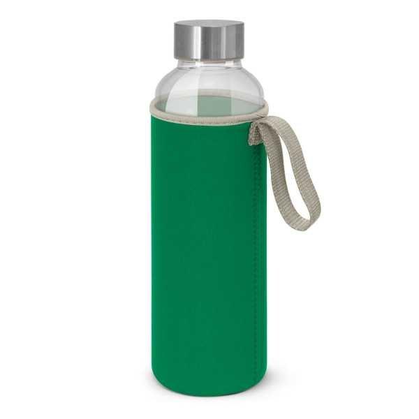 Venus Drink Bottles with Coloured Neoprene Sleeve 112544 Green
