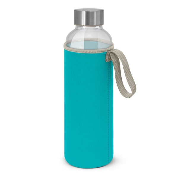 Venus Drink Bottles with Coloured Neoprene Sleeve 112544 Light Blue