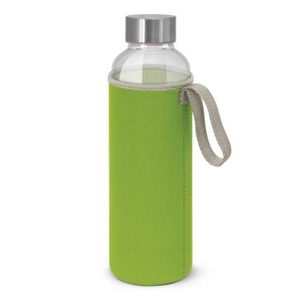 Venus Drink Bottles with Coloured Neoprene Sleeve 112544 Lime Green