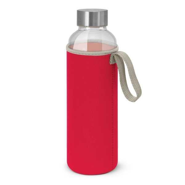 Venus Drink Bottles with Coloured Neoprene Sleeve 112544 Red