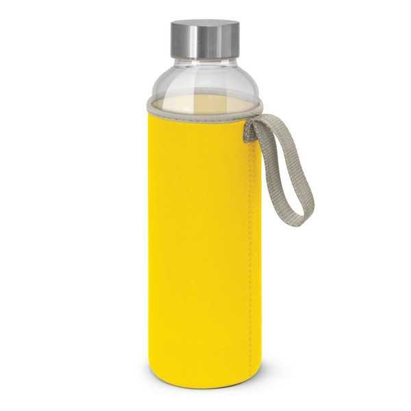Venus Drink Bottles with Coloured Neoprene Sleeve 112544 Yellow