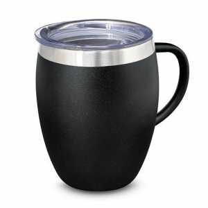 Verona Vacuum Cup with Handle 116135 Black