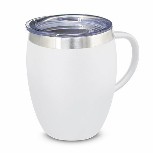 Verona Vacuum Cup with Handle 116135 White